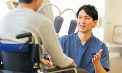 加藤辰弥/会話の機会が減ってしまう入院中こそ会話が大切。